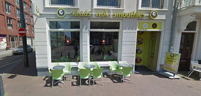 Een vestiging van Eazie bij Den Haag Hollands Spoor.