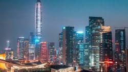In deze Chinese stad schieten wolkenkrabbers als paddestoelen uit de grond