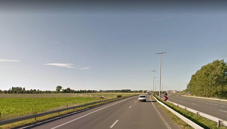 Op deze locatie zou de windmolen gebouwd worden.