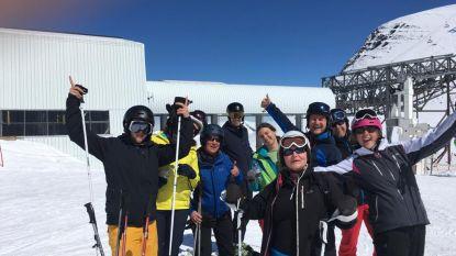 Belgische skiërs zitten bijna vier uur vast in skilift
