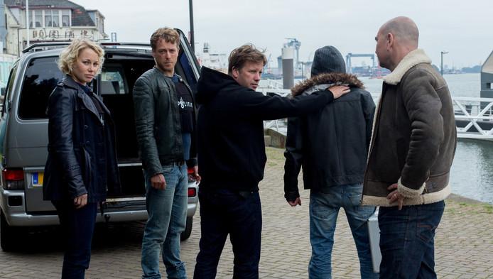 De cast van Flikken Rotterdam.
