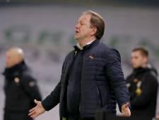 De Graafschap-trainer Snoei na nieuwe domper: 'Dit was geen rode kaart'