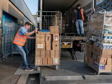 Vrachtwagens kunnen 24 uur per dag voorraad kwijt bij supermarkten in Oldebroek