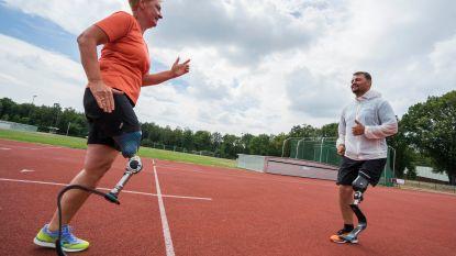Kristien neemt deel aan unieke stage en kan na meer dan twintig jaar voor het eerst opnieuw rondrennen