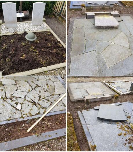 Kapotte graven in Diepenheim 'kan ook gevolg van stormschade zijn'