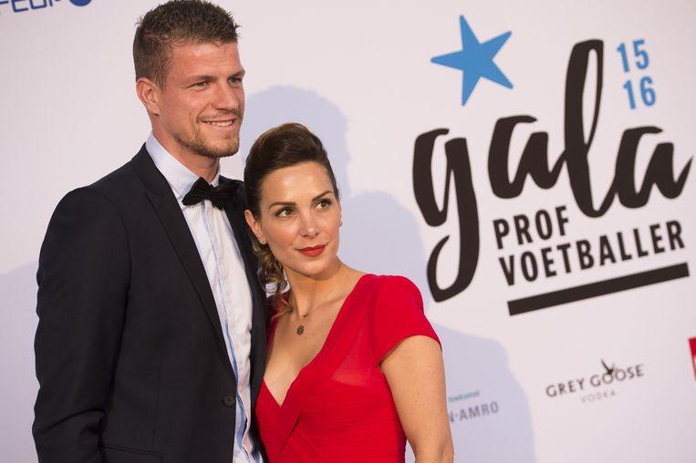 Ludovic Butelle samen met partner Sophie.