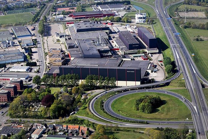 Bedrijfscomplex van sigarettenfabrikant Philip Morris in Bergen op Zoom