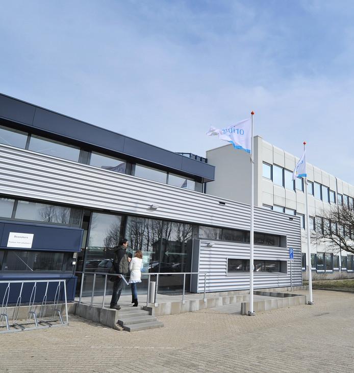 Het kantoorgebouw van Orionis aan de Oostsouburgseweg in Vlissingen.