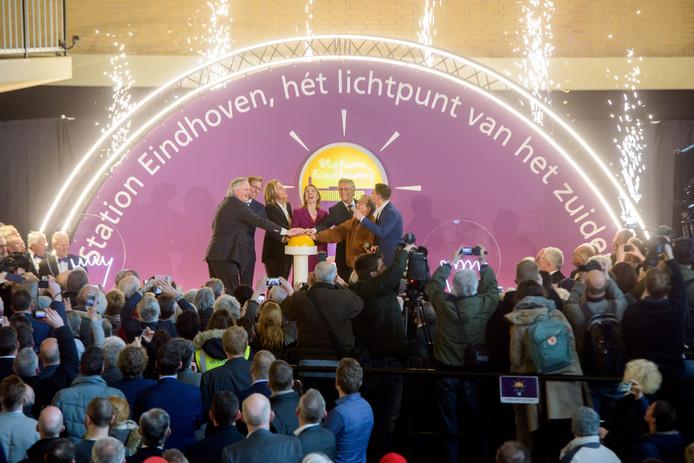 EINDHOVEN - Heropening station Eindhoven