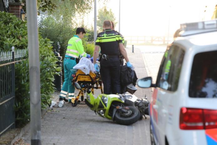 De bestuurder was vermoedelijk onder de invloed van alcohol
