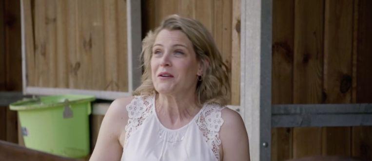Dina Tersago in 'Het Huis'.