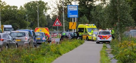 Bestuurder gewond bij kop-staartbotsing in Apeldoorn