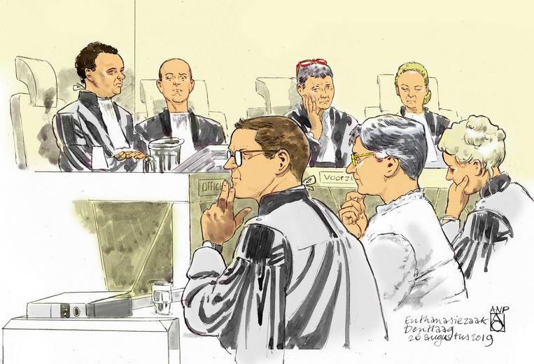De rechter oordeelde dat de vrouw zich niet schuldig heeft gemaakt aan moord.