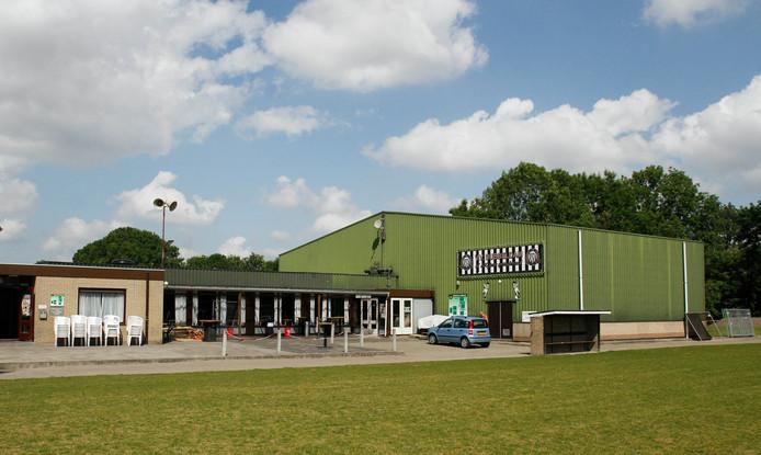 Het complex van voetbalvereniging Dubbeldam.