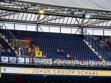 Protest brengt Vitesse-fans in gesprek met KNVB