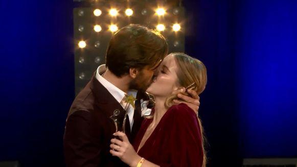 Bab Buelens en Vincent Banic kusten voor het eerst in het openbaar.