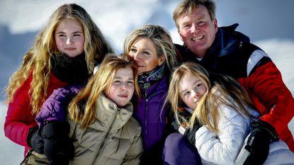 Kleumende Nederlandse royals op ijskoud fotomoment