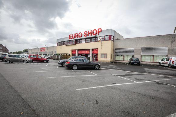 Het filiaal van Euro Shop in Veldegem.