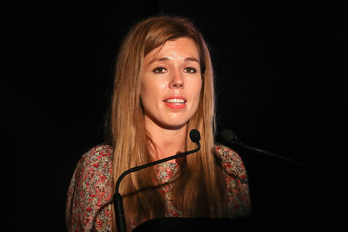Carrie Symonds mag de VS niet in, omdat ze vorig jaar een bezoek bracht aan Somaliland.