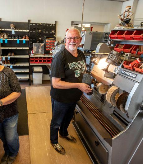 Schoenmakerij 'De Kees' in Heeze sluit na 29 jaar: 'Dankbaar voor het vertrouwen dat de klanten ons gaven'