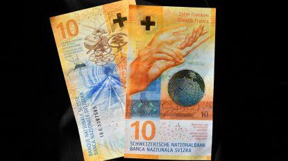 """Briefje van 10 Zwitserse frank is """"mooiste bankbiljet ter wereld"""""""