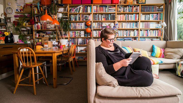 Volkskrant-columnist Asha ten Broeke. Beeld Jiri Buller