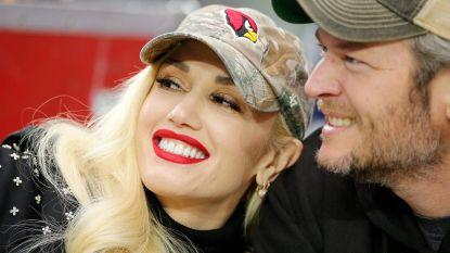 Gwen Stefani en Blake Shelton wonen samen