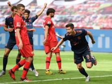 Ook Leverkusen kan Bayern niet stoppen, fraaie mijlpalen Lewandowski en Müller