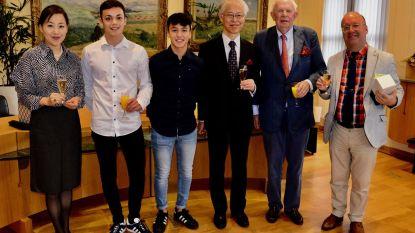 Wereldkampioenen jiujitsu ontvangen Japanse delegatie
