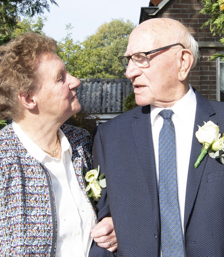 Een 60-jarig sprookjeshuwelijk in Aadorp