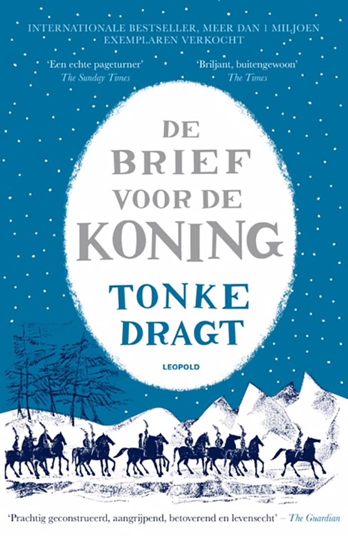 Cover van het boek De brief voor de koning van schrijfster Tonke Dragt