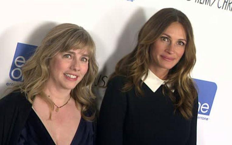 Julia en haar halfzus Lisa Roberts.