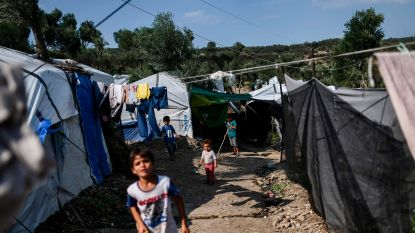 Oxfam slaat alarm over kamp op Lesbos: aantal vluchtelingen blijft toenemen