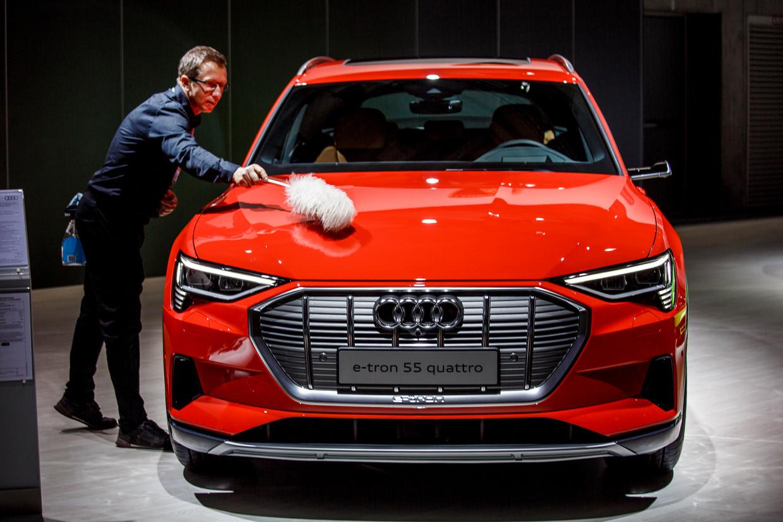 De college-Audi: vanaf 80.400 euro of 915 per maand. Beeld Carsten Koall/Getty Images