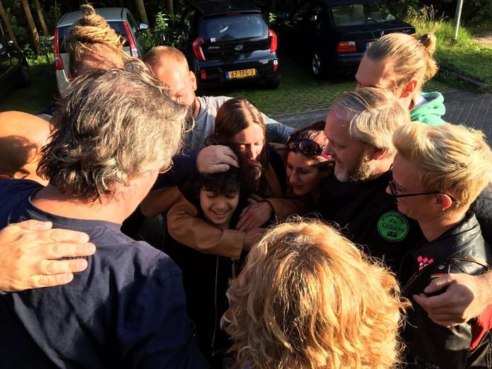 In Oisterwijk wordt er een demonstratie gehouden tegen de uitzetting van Nour.
