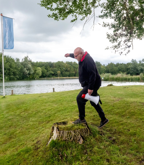 Processierups krijgt vaste gasten gesloten eilandje in Veluwemeer niet van hun plek