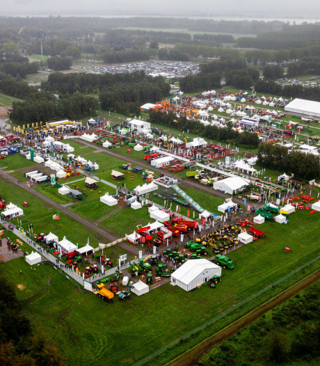 Landbouwbeurs Agrotechniek Biddinghuizen trekt ruim 50.000 bezoekers