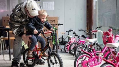 Voortaan kinderfietsen lenen bij de Fietsbieb