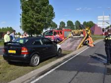 Auto brandt uit bij Bijsterhuizen, verkeer ondervindt hinder in avondspits