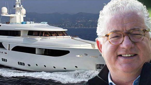 Jeroen Piqueur gebruikte het geld om de aankoop van zijn motorjacht Rubeccan te financieren.