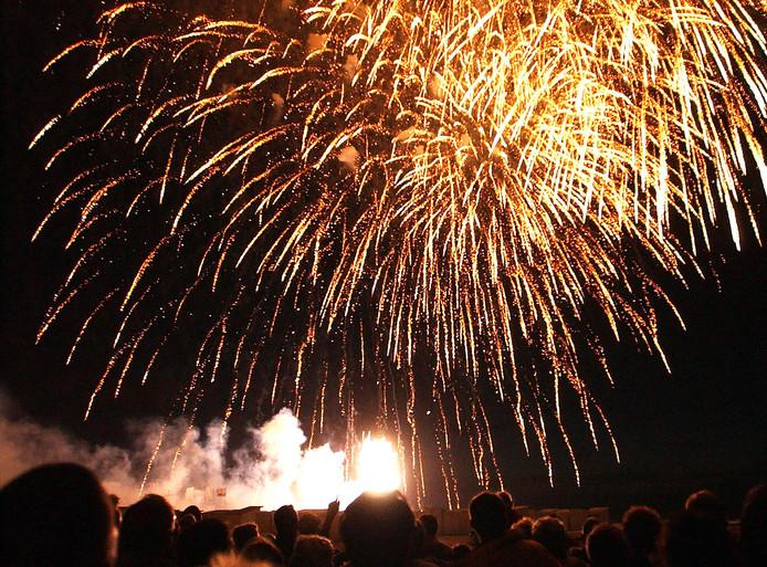 Tsjechië Winnaar Van Vuurwerkfestival In Knokke Zeeuws Vlaanderen