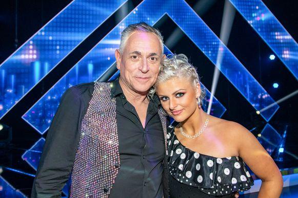 Peter Van Asbroeck en zijn danspartner Laura Jottay.