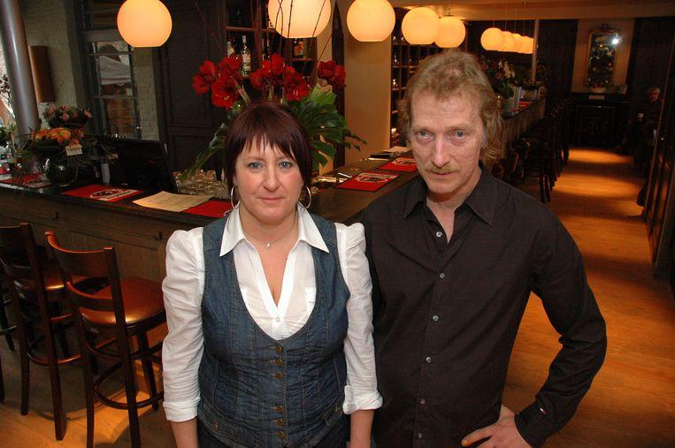 Uitbaters Johan Devrekere en echtgenote Jannique Venant organiseren voor het eerst een minivoetbaltornooi