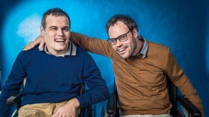 """Twee vrienden met beperking dromen van eigen toneelstuk in tv-programma Vandaag over een jaar: """"Toneel zit in ons DNA"""""""