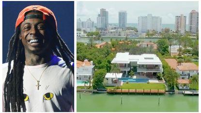 BINNENKIJKEN. Rapper Lil Wayne koopt villa van 14 miljoen euro