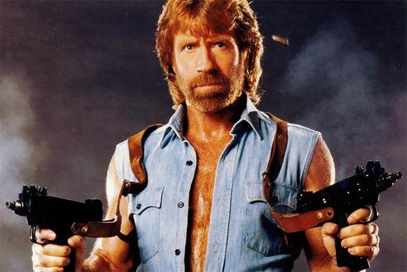 Een videoboodschap van de enige echte Chuck Norris kost 276 euro.