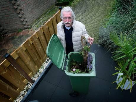 Groene bak van Papendrechtse Herman blijft vol: 'Alsof ze alleen mij moeten hebben'