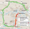 Fase 2 van de werkzaamheden aan de A325 tussen Nijmegen en Arnhem.