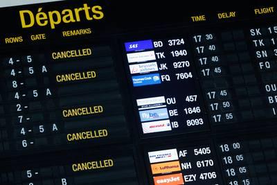 staking-op-brussels-airport-zorgt-voor-vertragingen-en-geannuleerde-vluchten