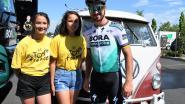 Gezin Pelemans volgt Tour in volkswagenbusje 'Bulleke'